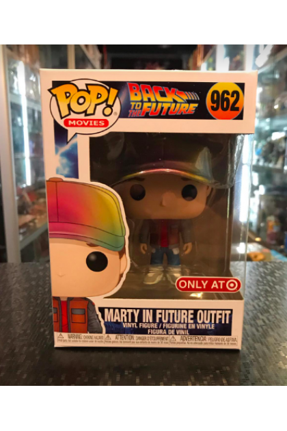 Back To The Future Marty In Future Outfit Funko Pop! #962 Target Exclusive (VINYL1353)
