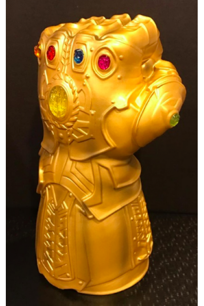 Marvel Avengers Infinity War Monogram Thanos Infinity Gauntlet Movie Style Coin Bank (VINYL195)