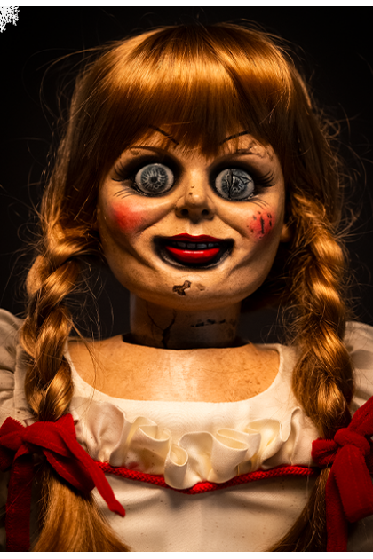 The Conjuring Trick or Treat Studios 1:1 Scale Annabelle Doll Replica