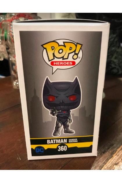DC Batman Murder Machine Funko Pop! #360 Hot Topic Exclusive (VINYL1398)