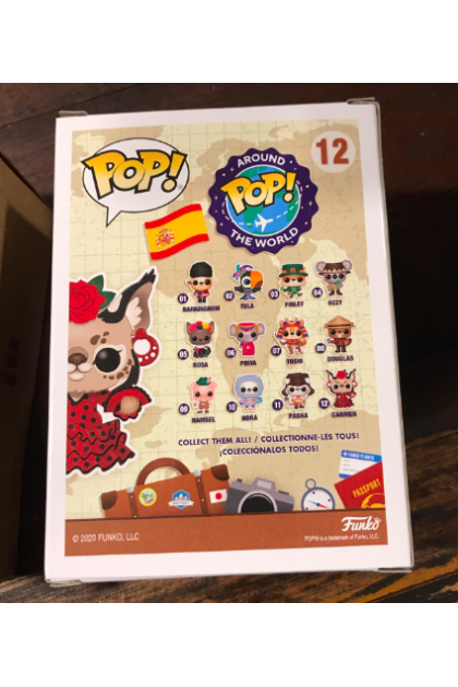 Around The World Carmen Funko Pop! #12 Funko Shop Exclusive (VINYL1426)