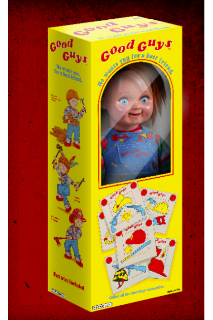 Child's Play 2 Trick or Treat Studios 1:1 Scale Good Guys Doll Chucky Replica