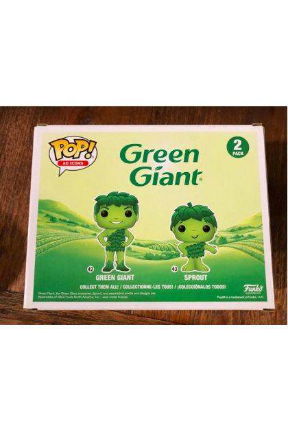 Ad Icons Green Giant & Sprout Metallic Funko Pop! 2 Pack Target Exclusive (VINYL1609)