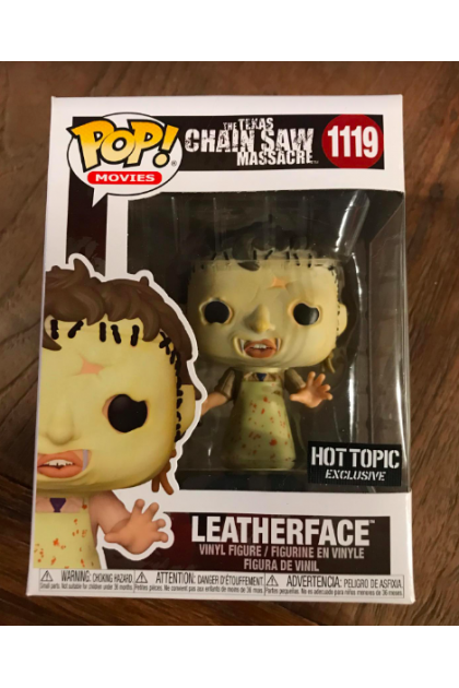 Movies The Texas Chainsaw Massacre Leatherface Funko Pop! #1119 Hot Topic Exclusive (VINYL1633)