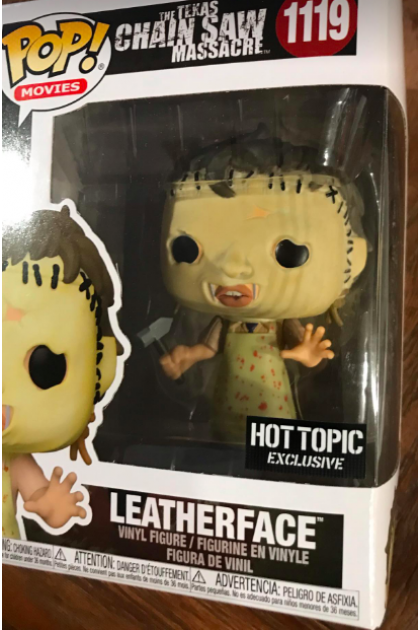 Movies The Texas Chainsaw Massacre Leatherface Funko Pop! #1119 Hot Topic Exclusive (VINYL1634)