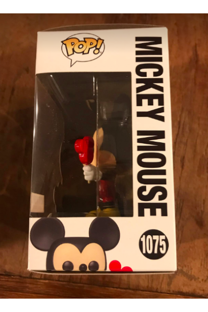 Disney Mickey and Friends Mickey Mouse Funko Pop! #1075 Hot Topic Exclusive (VINYL1654)