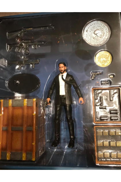 Diamond Select Toys John Wick Deluxe Action Figure with Accessories (AF373)